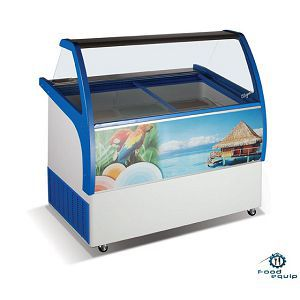 Ларь-витрина для мягкого мороженого ВЕНУС ELEGANTE-36