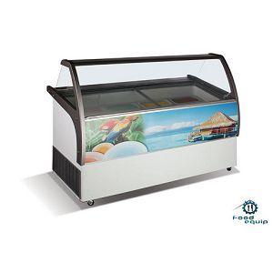 Ларь-витрина для мягкого мороженого ВЕНУС ELEGANTE-46