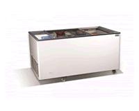 Напольные холодильники с раздвижной крышкой для продуктовых магазинов