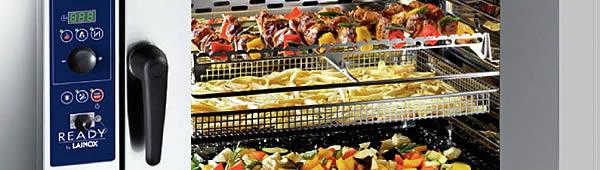 Пароконвектомат. Пароконвекционные печи выполняют 70% всех возможных способов тепловой обработки продуктов
