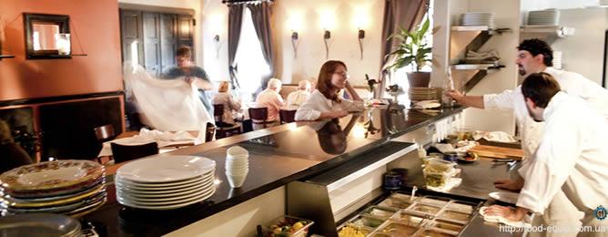 оборудование для ресторана кафе