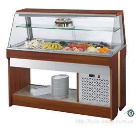 салат бар, холодильная витрина настольная