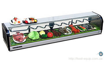 суши-кейс, витрина для суши