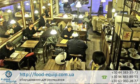 Кофейня в Париже Cafe Verlet
