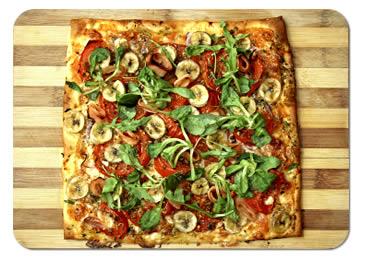 пицца, квадратная пицца