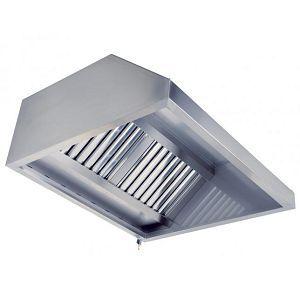Зонт вытяжной пристенный 700х1500х400 мм Техно 1