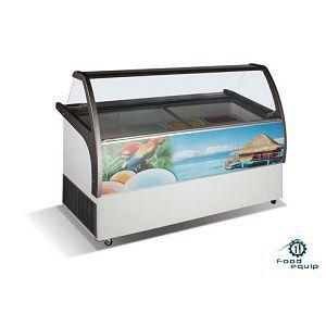 Ларь-витрина для мягкого мороженого ВЕНУС ELEGANTE-56
