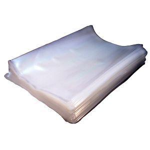 Гладкие пакеты для вакуумной упаковки 20х50 см 55 микрон