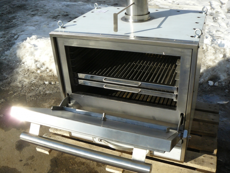 Гриль печь BQS-2