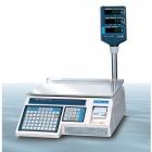 Весы с печатью этикеток LP-R (в. 1.6) RS-232 со стойкой