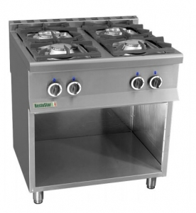 Плита газовая RestoStar 4 без духовки
