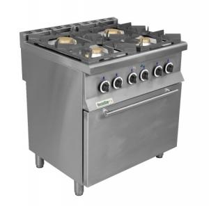 Плита газовая RestoStar 4 с духовкой