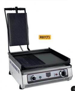 Жарочная поверхность с грилем R87T