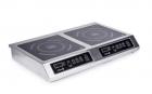 Плита индукционная 2-х конфорочная 2,8 кВт настольная
