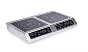 Плита индукционная 2-х конфорочная 3.5 кВт настольная